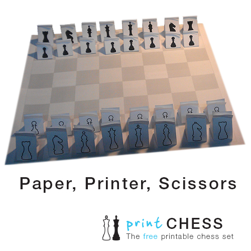 image regarding Chess Board Printable referred to as Cost-free Printable Paper Chess Established (3D) - Print Paper Chess